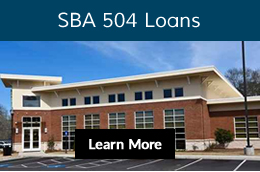 SBA 504 Loans button learn more